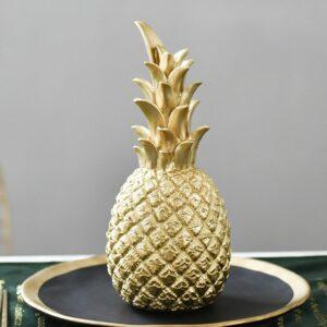 Déco Ananas <br>Ananas Doré