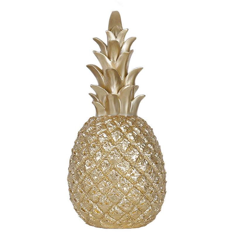 Ananas deco or céramique
