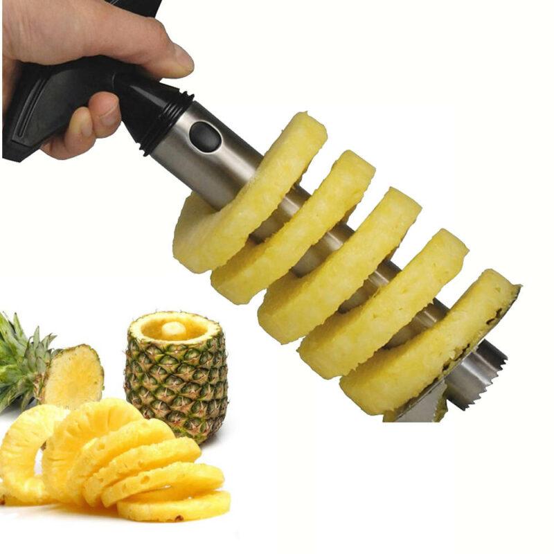 appareil decoupe ananas inox spirale