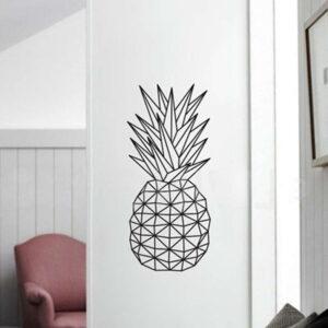 Sticker Mural <br>Ananas Géométrique