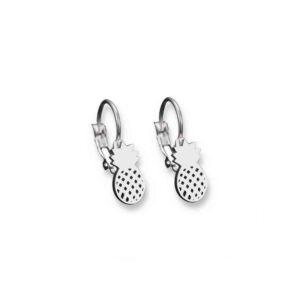 Boucles d' oreilles Ananas <br>Acier
