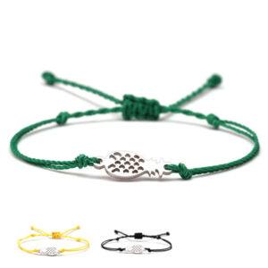 Bracelet Ananas <br>Cordon