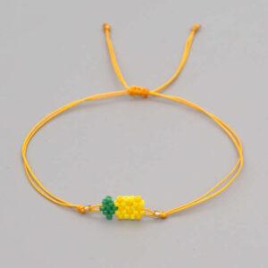 Bracelet ananas perles Miyuki