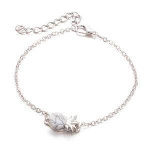 Bracelet Ananas <br>Pierre de Marbre