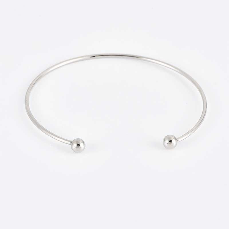 bracelet ananas plumeaux et cauris bangle