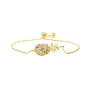 Bracelet Ananas <br>Fin
