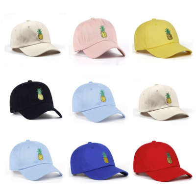 casquettes ananas passion ananas
