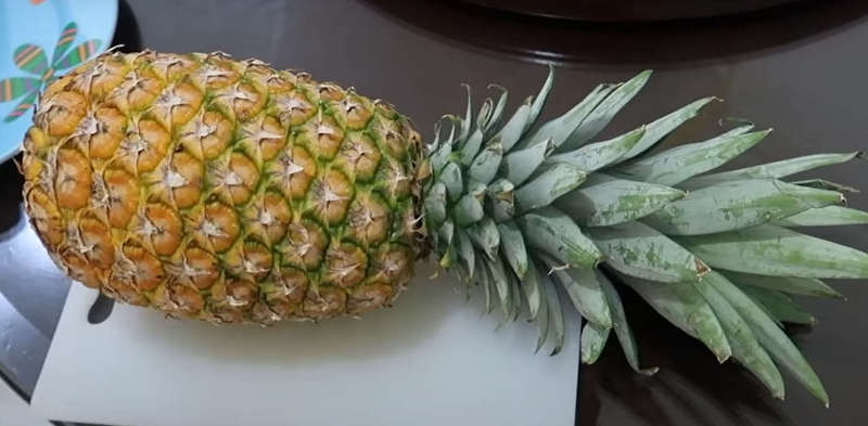 ananas beau et sain