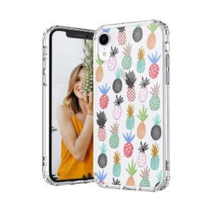Coque iPhone <br>Ananas Multicolores
