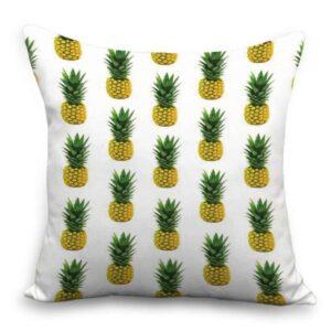 Taie d'oreiller 45×45 Ananas Pluie de Fruits