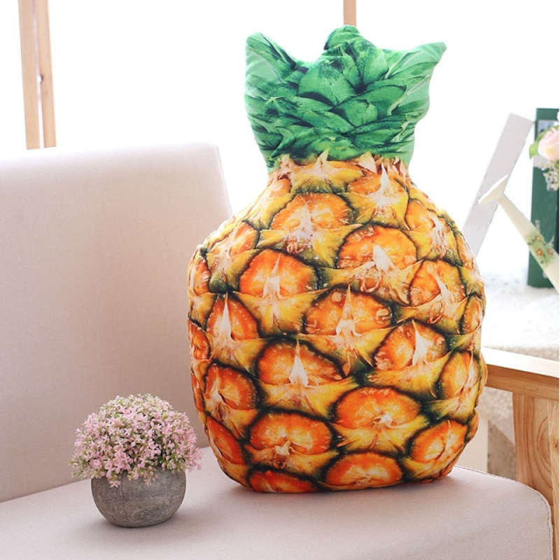coussin en forme d'ananas