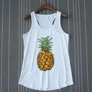 Débardeur Ananas Femme Tropical