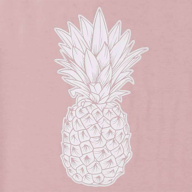 debardeur motif ananas rose femme zoom motif ananas