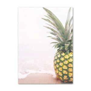 Tableau Ananas à la plage