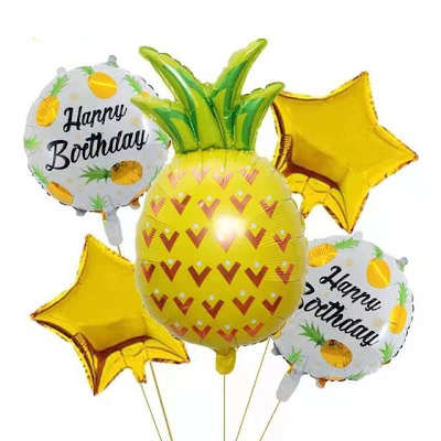 décoration de fête ananas pour mariage et anniversaires, enterrement de vie de garçon ou de jeune fille