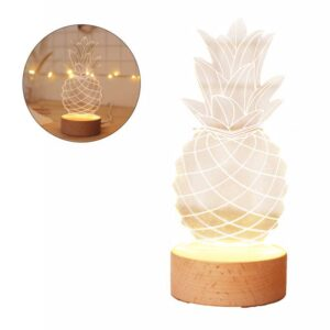 Lampe Ananas <br>3D USB