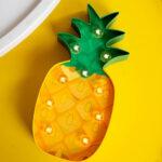Lampe veilleuse ananas
