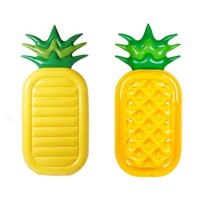 matelas ananas gonflable pour la piscine ou la mer