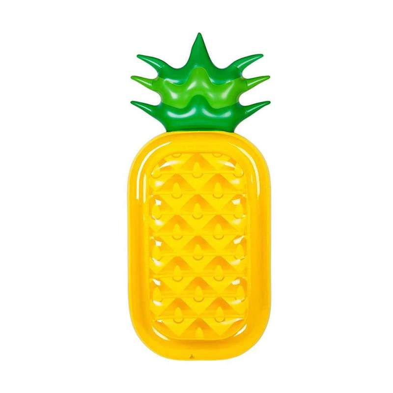 matelas gonflable forme ananas