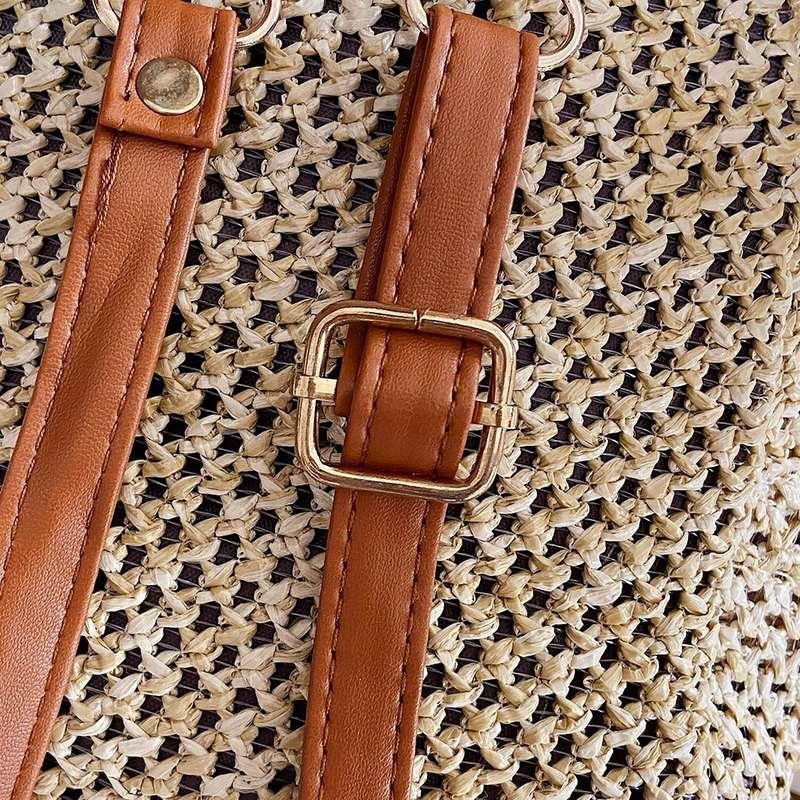 mini sac à dos motif ananas réglable à bandoulière