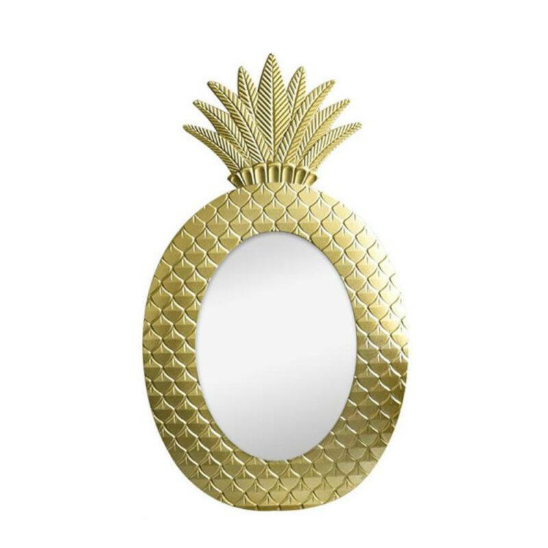 miroir ananas doré scandinave