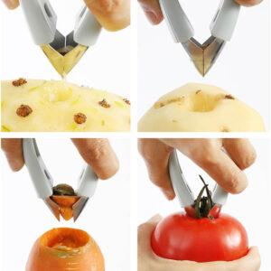 Eplucheur à Ananas <br>Pince à Oeil Ergonomique