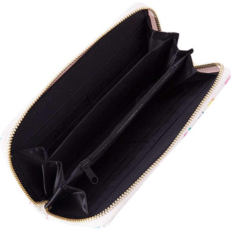 intérieur porte monnaie ananas avec poche zippée