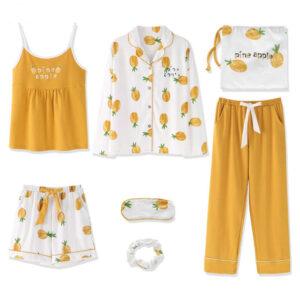Pyjama Ananas Orange