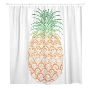 Rideau de Douche Ananas à Motifs