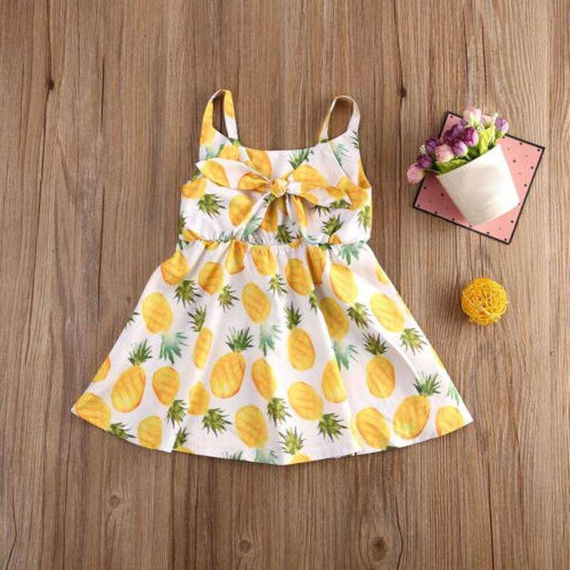 robe motif ananas enfant