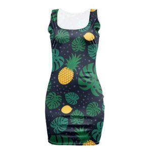 Robe Ananas Moulante Citrons