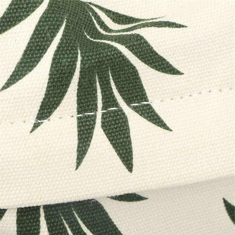 Sac à dos motifs ananas noir et blanc tissu