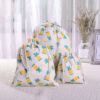 sac à vrac en coton imprimé de motifs ananas