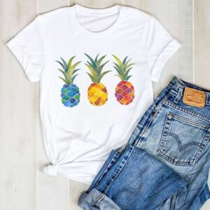 T-Shirt 3 Ananas Femme