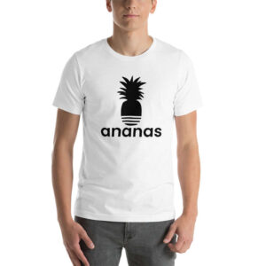 T-Shirt ananas homme 3 bandes