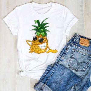 T-Shirt Ananas Femme Cool