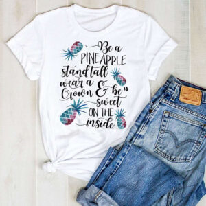 T-Shirt Ananas Femme Stand Tall