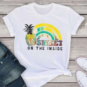 T-Shirt Ananas Femme <br>Sweet on the Inside