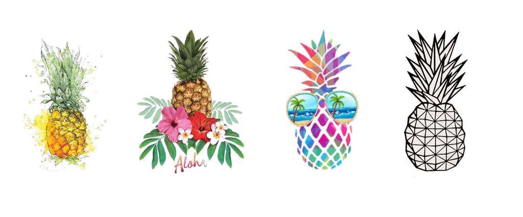 tee shirt ananas femme
