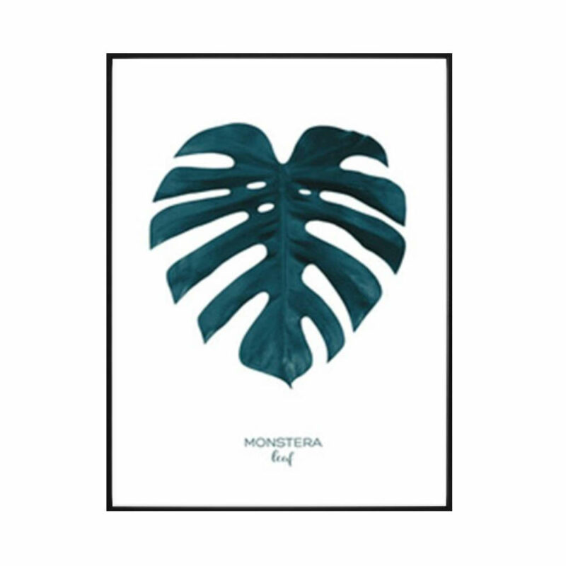 tableau ananas plante monstera