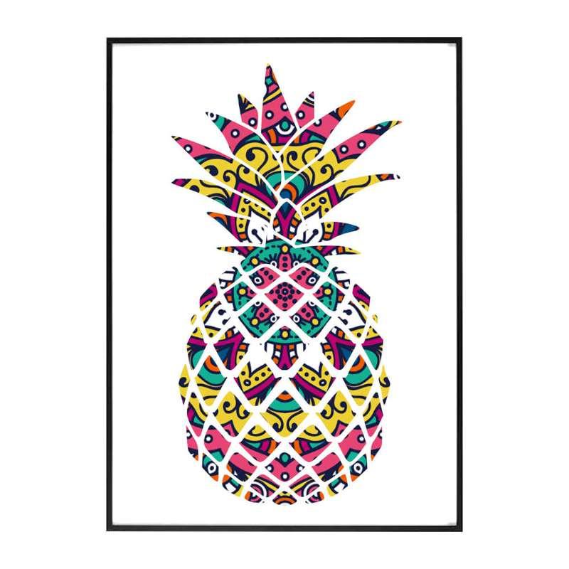 tableau ananas mandala hiva
