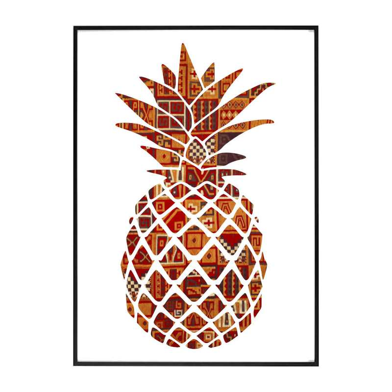 tableau ananas mandala Inca