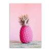 tableau ananas rose fushia