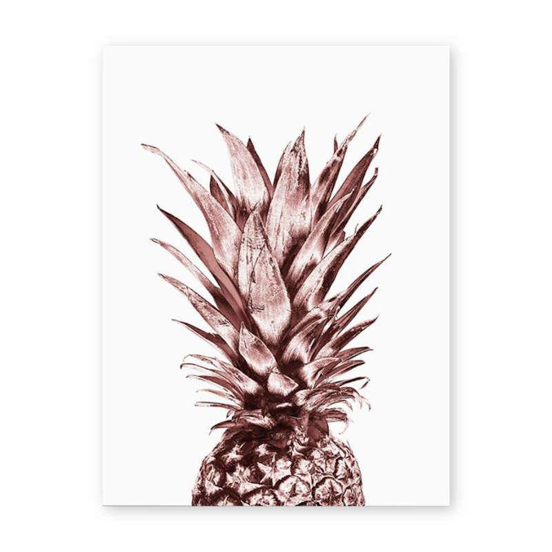 tableau ananas rose