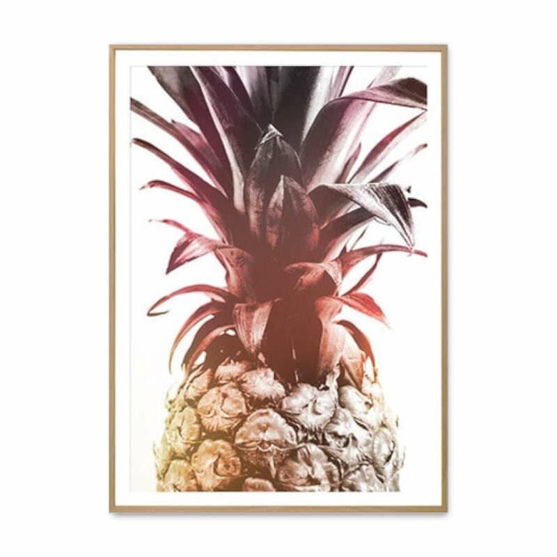 tableau avec ananas