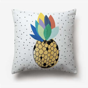Taie d'oreiller Ananas Couronne Multicolore