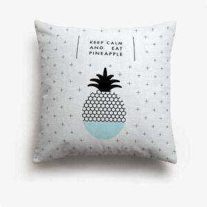 Taie d'oreiller Ananas Keep Calm