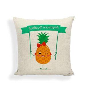 Taie d'oreiller Ananas Premium Quality 45×45