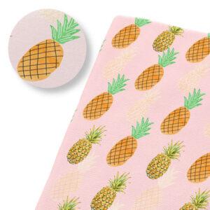 Tissu Ananas Exotique