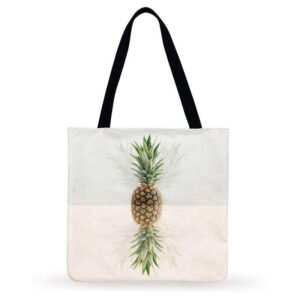 Sac ananas <br>Tote bag duo tropical